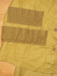 Hettrick Vtg Field Hunting Fishing Game Pouch Vest