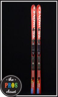 Salomon Equipe Racing Skis 185mm Giant Slalom Alpine GS Power Axe