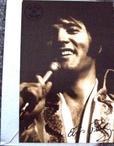 2006 Elvis Presley BIRTHDAY Greeting Card Signature Product American