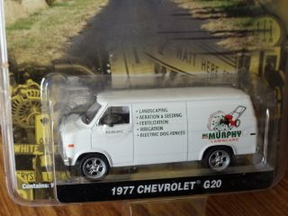 Greenlight County Roads 1977 Chevrolet G 20 Van Mcmurphys Lawn Care