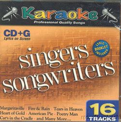 Singer Songwriters Karaoke CD G 16 Songs Neil Young Gordon Lightfoot