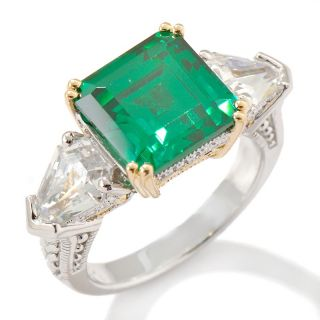 tone emerald color fancy cut ring note customer pick rating 38