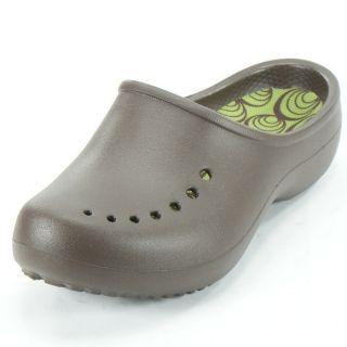 4e8e2cd080d74 Crocs Womens Tully Clog Espresso Parrot Green Size 4 New ...