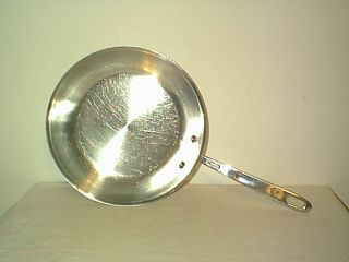 Emeril Pro Clad 10 Stainless Steel Copper Tri Ply Disc Bottom Skillet