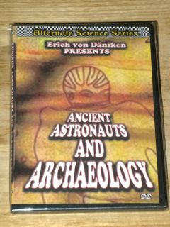 Erich Von Danikens Ancient Astronauts and Archaeology DVD