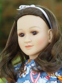 New in Box My Twinn Doll  Erika  Brunette Hair and Brown Eyes