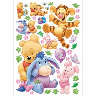 Pooh Eeyore Home Decor Mural Wall Sticker Ph 208