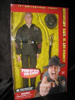 SIDESHOW Gunnery Sgt R Lee Ermey Talking 12 Inch Action Figure