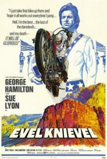 Evel Knievel 1971 Vintage Original Biographical Movie Poster 27X41 1