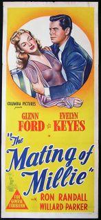 Mating of Millie Evelyn Keyes and Glenn Ford DVD 1948