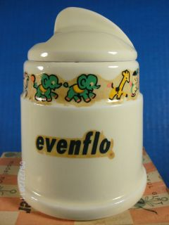 Vintage Evenflo Ceramic Baby Bottle Warmer and Vaporizer Hankscraft