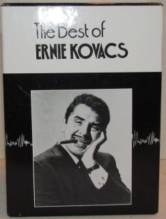 The Best of Ernie Kovacs Collectors Edition (VHS, 1991, 5 Tape Set)