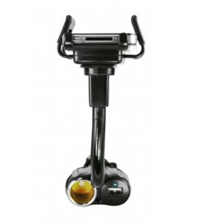 Cigarette Cradle Car Mount Holder for Samsung Galaxy S2 II with USB