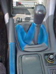 Stealth TT RS ES blue + black shift + ebrake boot