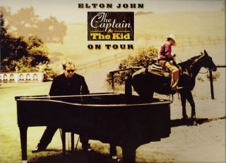Elton John 2006 Captain The Kid Tour Concert Program Book