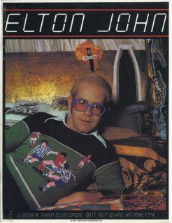 Elton John 1976 Tour Concert Program Book