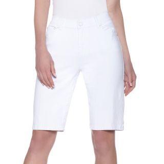 180 603 diane gilman stretch denim bermuda shorts note customer pick