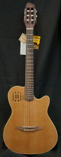 New 2012 Godin Multiac Encore Classical Electric Guitar w Case