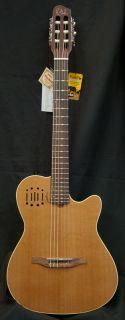 New 2012 Godin Multiac Encore Classical Electric Guitar w Case