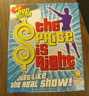 Price Is Right DVD Game 2005 Endless Games Board Game Complete