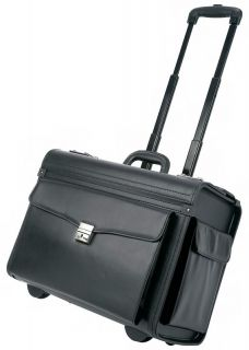 19 Embassy Sample Pilot Bag Aluminum Trolley Case