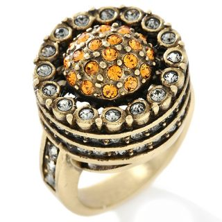 Heidi Daus Endless Beauty Crystal Accented Round Ring