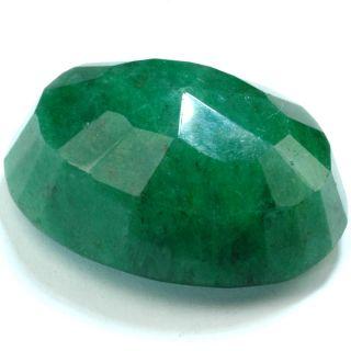BIG Pendant Size Rare Real Natural Emerald Oval Shape Loose Gemstone