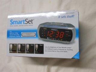 Emerson Research Smartset CKS3088 Dual Alarm Amfm Clock Radio