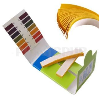 Pack Full Range Ph Test Paper 80 Strips Indicator New