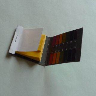 Full Range 400 Ph Test Paper 1 14 Litmus Strips