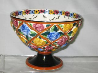 Antique Porcelain Hand Painted Emil Fischer Bowl