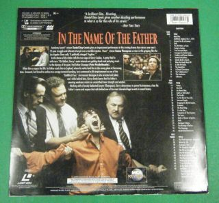 of The Father 2 Laser Disc Set Daniel Day Lewis Emma Thompson