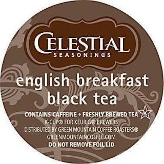 90 Keurig K Cups Celestial English Breakfast Black Tea