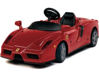 Enzo Ferrari Electric Battery Operated Kid Ride 4 Wheel Car Red