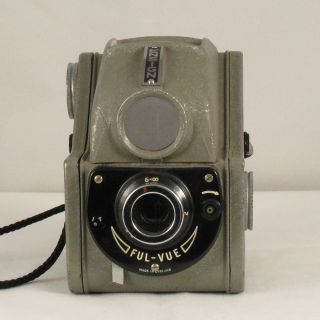 Ensign Ful Vue Camera Late Model II Grey Coronation Celebration Model