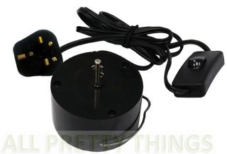 Motors Solar Electric Battery 4 Wind Spinners Crystal Twisters