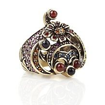 heidi daus petit jardin crystal accented flower ring $ 69 95