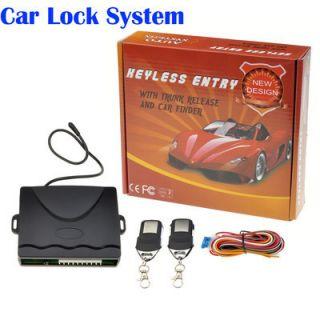 Car Remote Central Lock Kit Keyless Locking Entry System