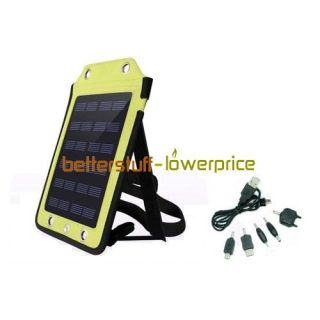 USB Powered Solar Panel Charger for Cell Phone GPS