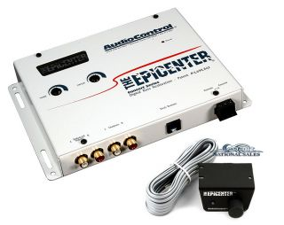 AUDIOCONTROL THE EPICENTER WHITE CAR AUDIO BASS RESTORATION DIGITAL