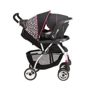 Evenflo Journey 300 BABY Stroller with Embrace 35 INFANT Car Seat