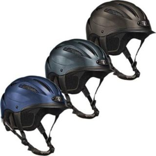 Tipperary Sportage Riding Helmets Carbon Gray Navy Blue Cocoa Brown XS