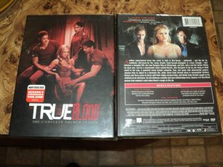 True Blood The Complete Fourth Season DVD 2012 5 Disc Set