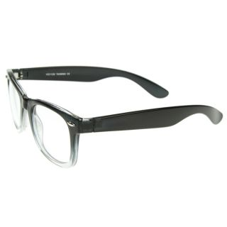Two Tone Classic Clear Lens Wayfer Glasses RXAble Frame