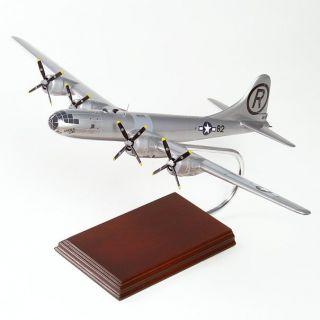 29 Superforress Enola Gay Bomber Wood Model Airplane