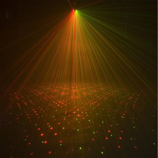 DJ Galaxian 3D Laser Starfield Effect Widefield Star Beam Lighting NEW