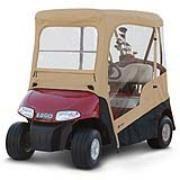 EZGO Golf Cart Enclosure w Zip Off Windshield Carrying Case