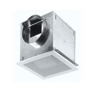 L300KMG White Commercial Kitchen Exhaust Fan 277 CFM 3.1 Sones Metal