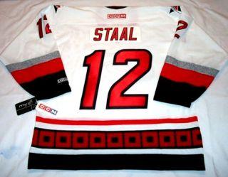 Eric Staal Size XL Carolina Hurricanes CCM 550 Hockey Jersey BNWT