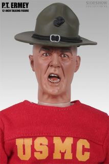 PT R. LEE ERMEY TALKING SIXTH SCALE FIGURE SIDESHOW FULL METAL JACKET